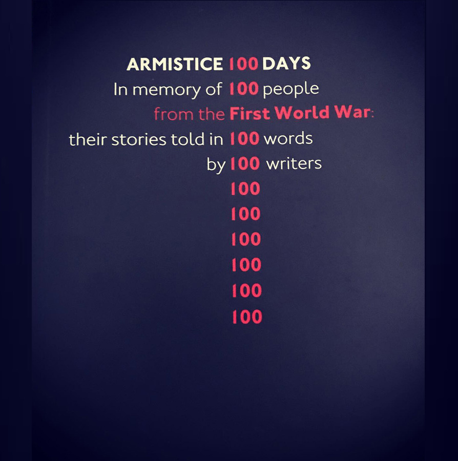 Armistice 100 Days Cover